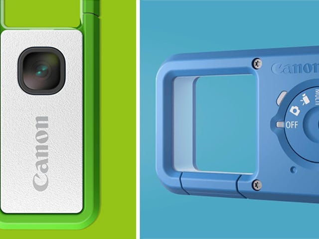 Canon stopte een smartphonelens in een flashstation voor deze kleine clip-on camera