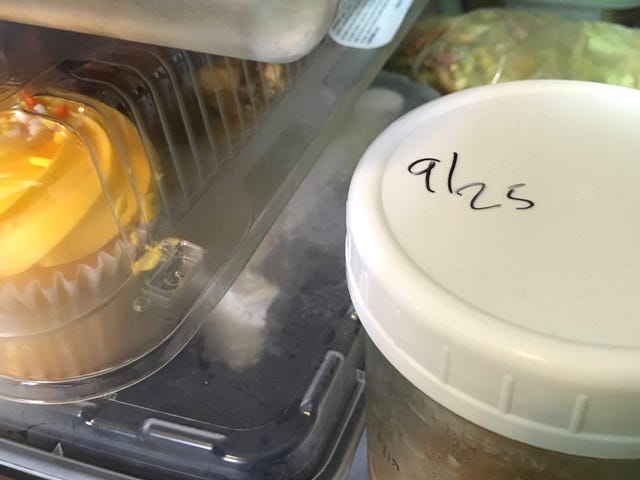 Write the Date on Everything in Your Fridge