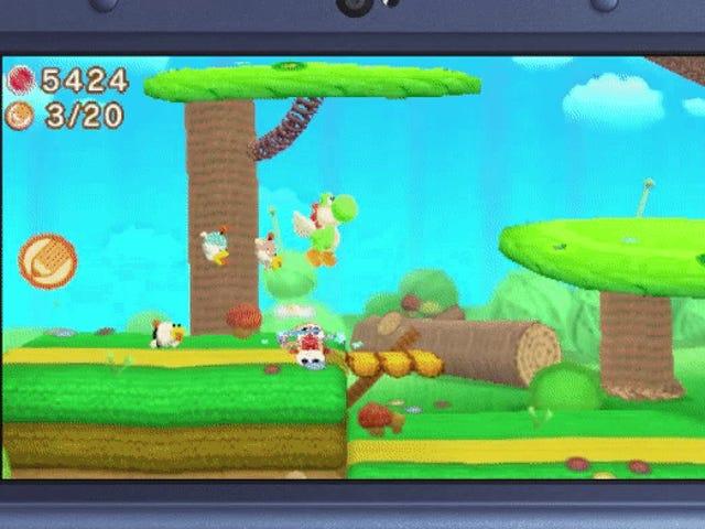Poochy Menjadikan <i>Yoshi's Woolly World</i> Untuk 3DS Cuter, Tetapi Kurang Tegas