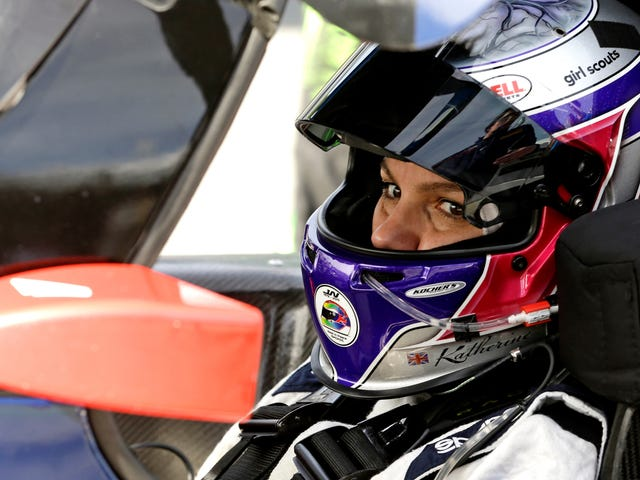 Sports-Car Ace Katherine Legge Makes Her NASCAR Debut Later This Month