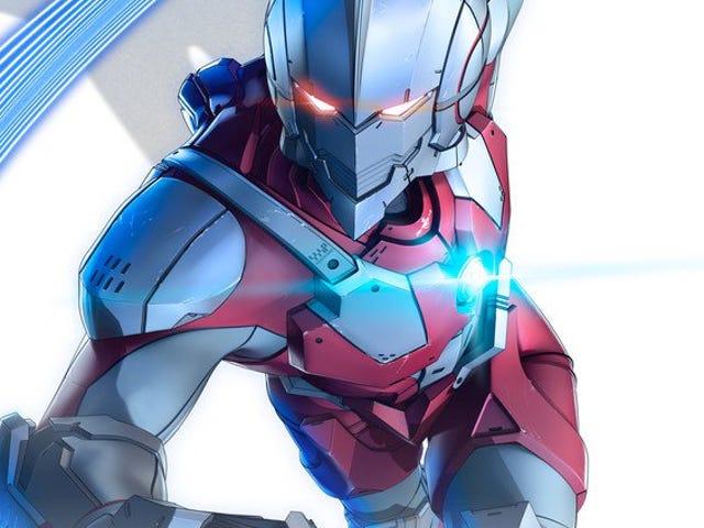 Ultraman anime'ın en yeni fragmanının keyfini çıkarın