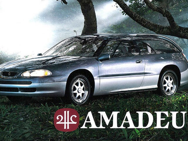 The Subaru Amadeus Was A Flat Six Shooting Brake That Wasn't
