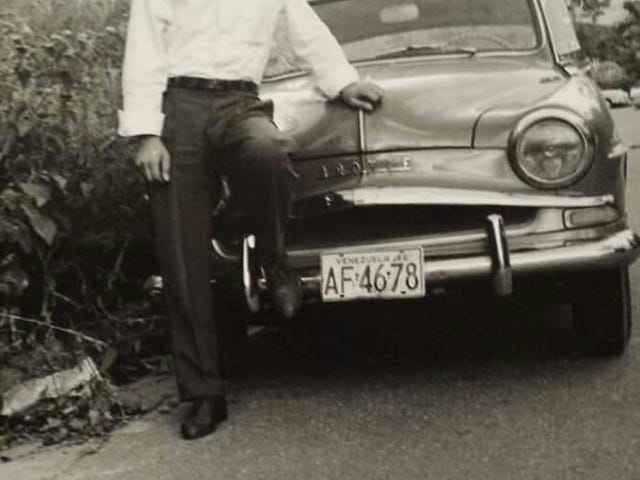 Nonno and His Simca Aronde 90