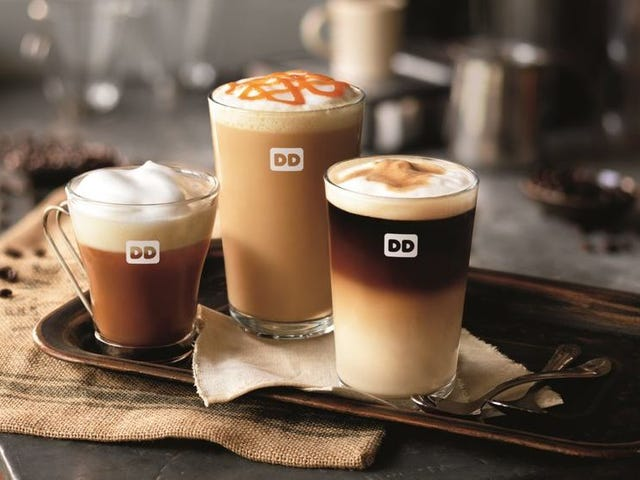 Dunkin ': Obiecujemy, że nasze latte będą coraz lepsze