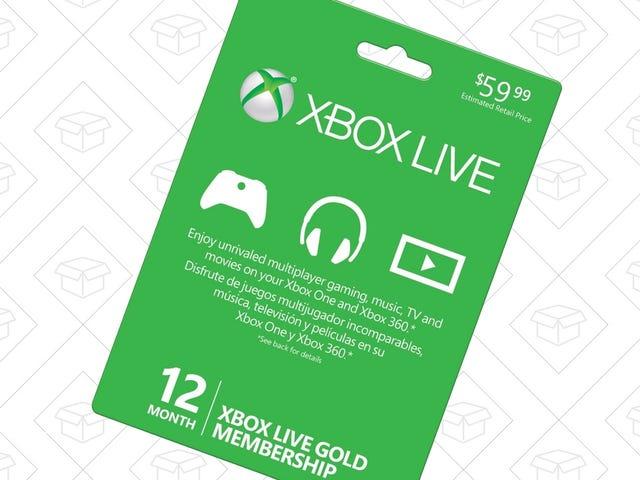 Ne payez pas trop pour Xbox Live Gold - Voici 12 mois pour 38 $