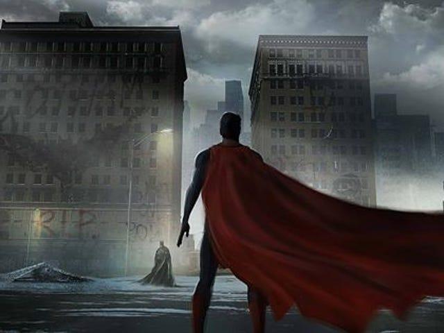 Au moins <i>Batman v Superman</i> <i></i>  Concept Art fait briller Gotham et Metropolis