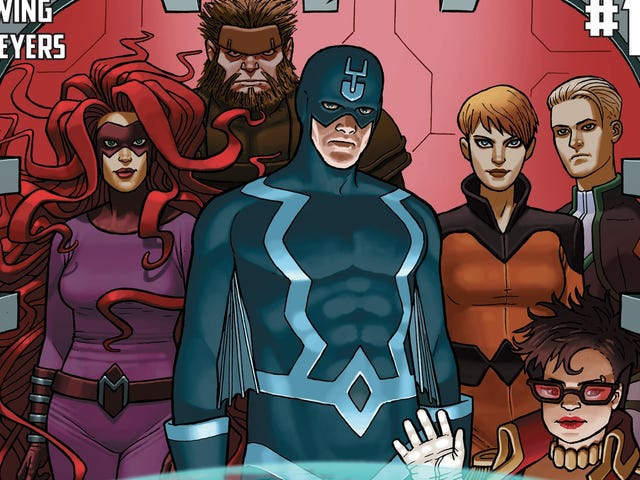I Am Suddenly Incredibly Interested in Reading an Inhumans Comic