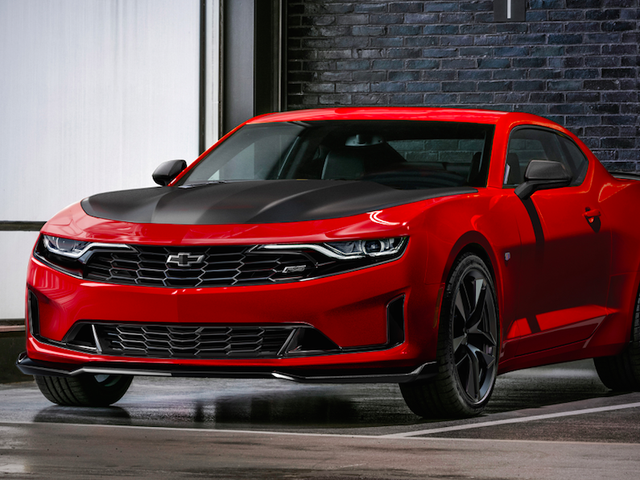 The 2019 Chevrolet Camaro Gets A Four-Cylinder 1LE And It Looks Questionable