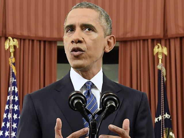Obama Delivers Oval Office Address On ISIS And Anti-Terrorist Measures