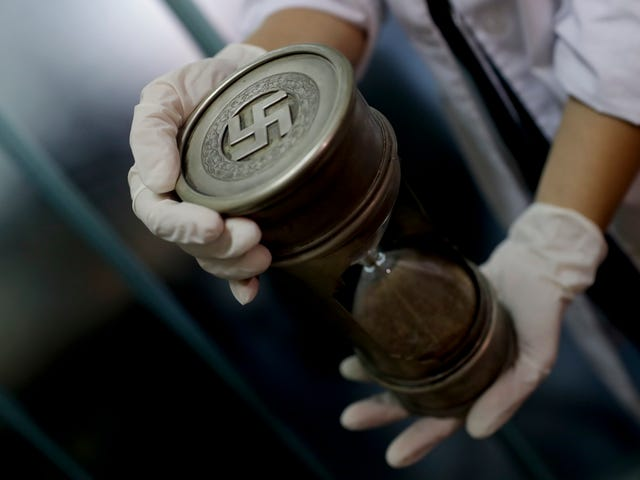 Huge Collection of Nazi Artifacts Discovered Inside Secret Room in Argentina