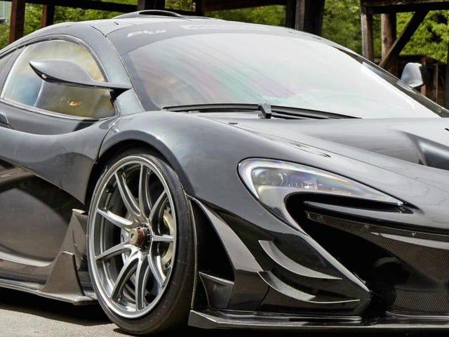 McLaren P1 LM - Un P1 GTR para el camino