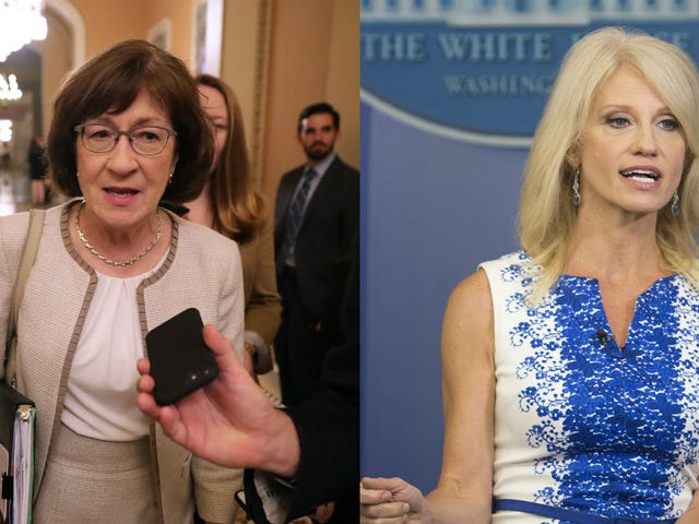 Susan Collins and Kellyanne Conway Spent the Morning Defending Brett Kavanaugh