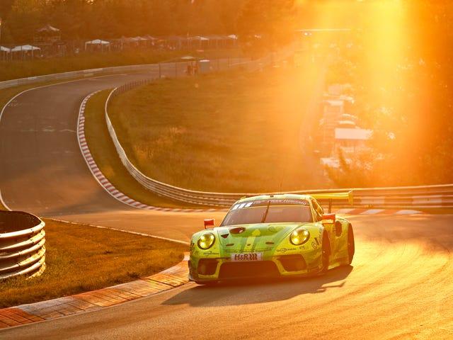 Audi Snatches Huling Minuto Nurburgring 24 Tagumpay Sa Isang Parusa ng Porsche