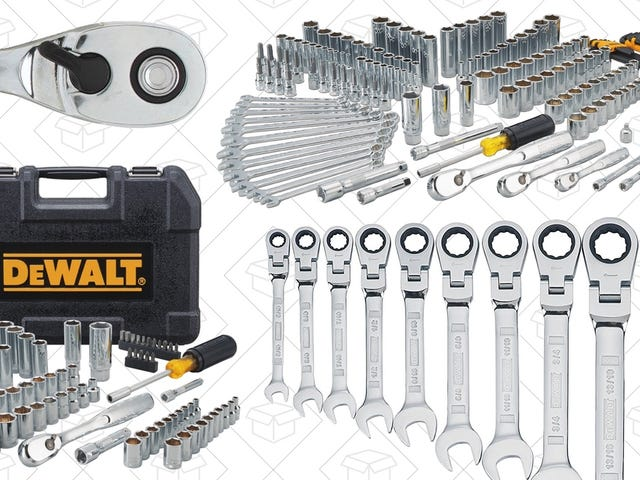 Save On the Right Tools For the Job During This One-Day DEWALT Sale