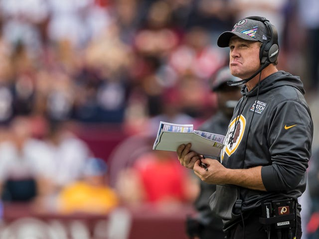 The Skins Made Jay Gruden Come To The Office At 5 A.M. To Get Fired