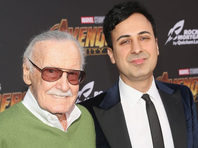 Stan Lee's Strange Legal Saga Continues With a Restraining Order Against His Manager Keya Morgan [Updated]