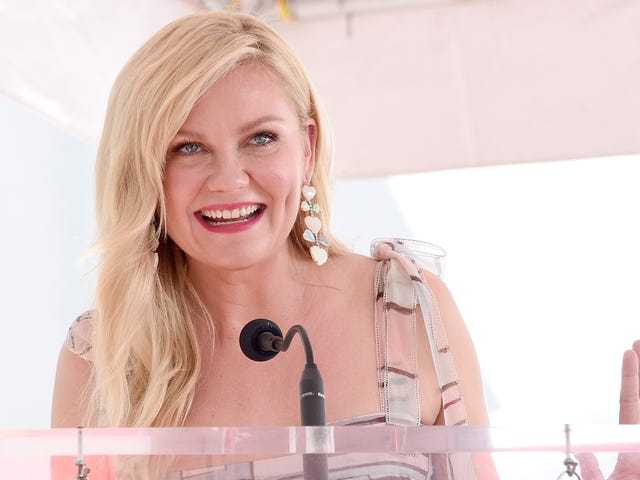 No longer ignored, Kirsten Dunst gets a star on the Hollywood Walk Of Fame