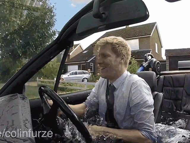 Mad Genius baut eine fahrbare Hot Tub, die Verkehr angenehm machen könnte