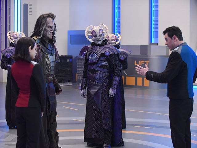 On The Orville, an old friend returns