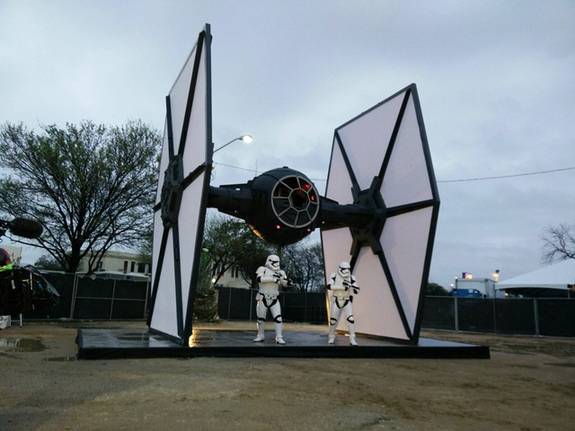 There's A Life-Sized First Order TIE Fighter At SXSW This Year