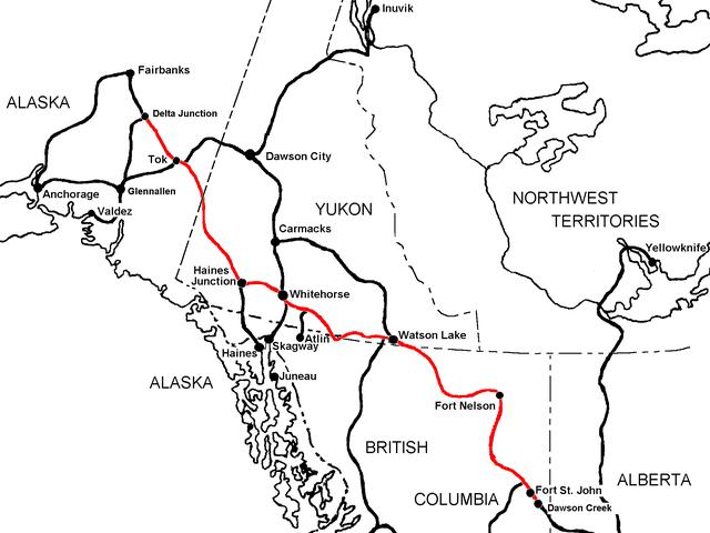 Anyone here ever drive the Alaskan highway?
