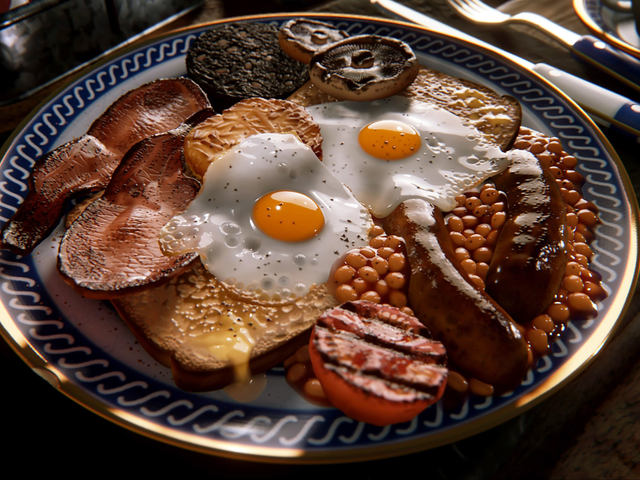 Questa colazione sembra deliziosamente reale ma è stata effettivamente realizzata nei sogni