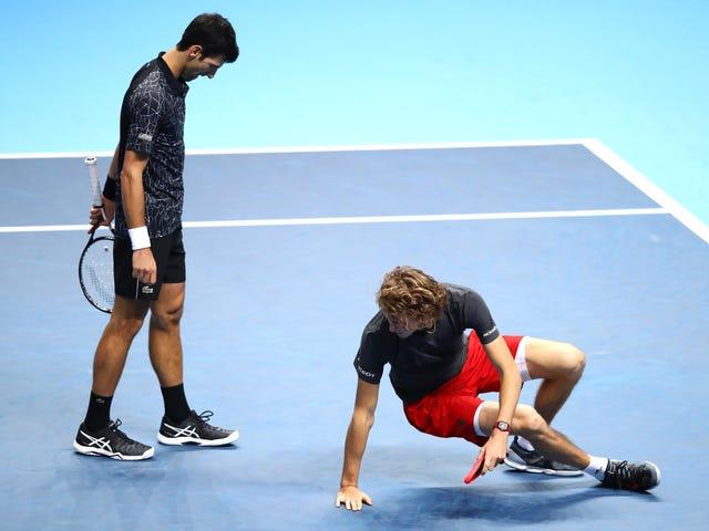 Novak Djokovic Was Finally Imperfect And The Kid Won