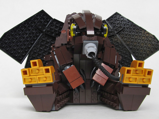 Lego Bioshock Infinite Songbird Doll