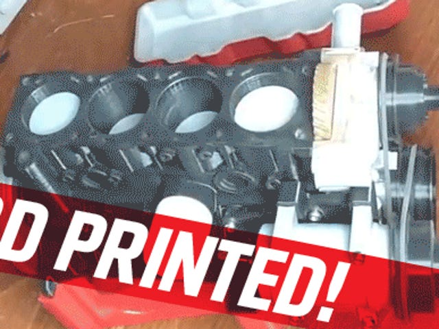You Can Download And 3D Print A Working Toyota Drivetrain
