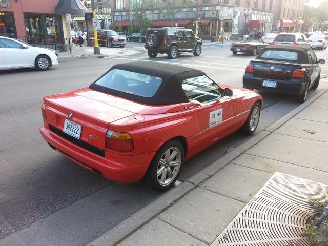 BMW Z1 On the street