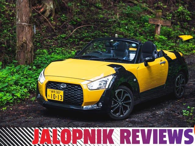 The Daihatsu Copen XPlay Brings Back Weird Sports Cars