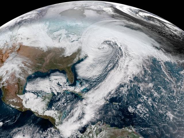 Echa un vistazo a estas increíbles fotos de la bomba de nieve de hoy Ciclo de ciclón