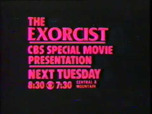 The Exorcist - First Time on TV