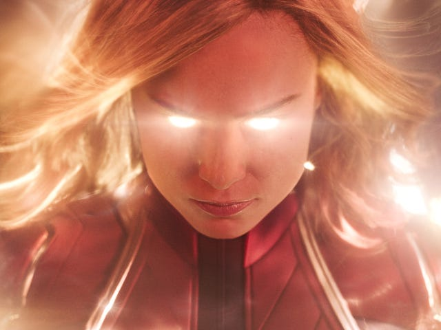 The dream of the '90s is alive in the underwhelming Captain Marvel