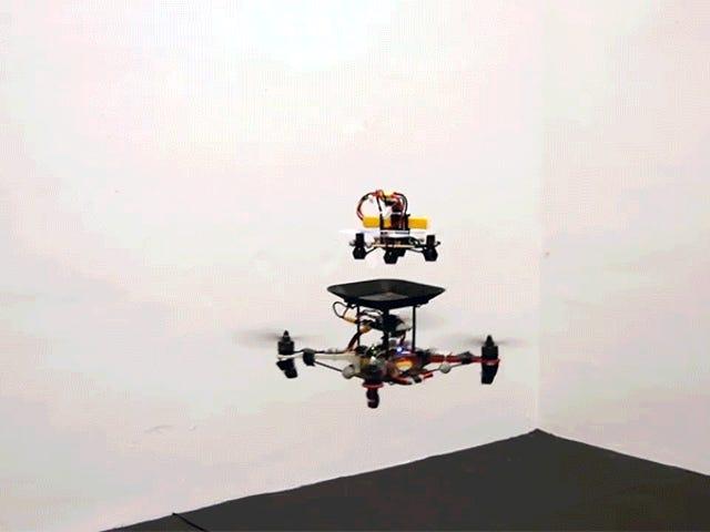 Pin thay thế bay có thể tăng mạnh thời gian bay của Drone