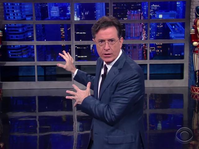 Stephen Colberts lurvede plan for at redde alle fra <i>Star Wars</i> Spoilers