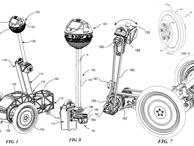 Facebook Patents Self-Balancing Robot, and It's Anyone's Best Guess Why