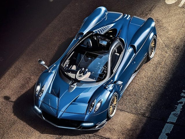 The $25,000-Per-Month Pagani Lease Is Actually A Bargain