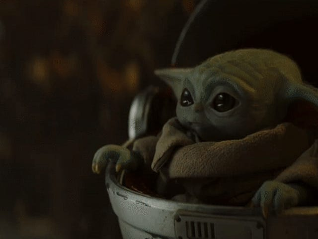 Congratulations to Baby Yoda, Emmy Award Winner