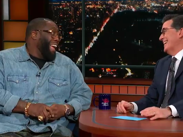 Killer Mike tells Stephen Colbert about his new show, marketing the Crips, and how Atlanta is Wakanda
