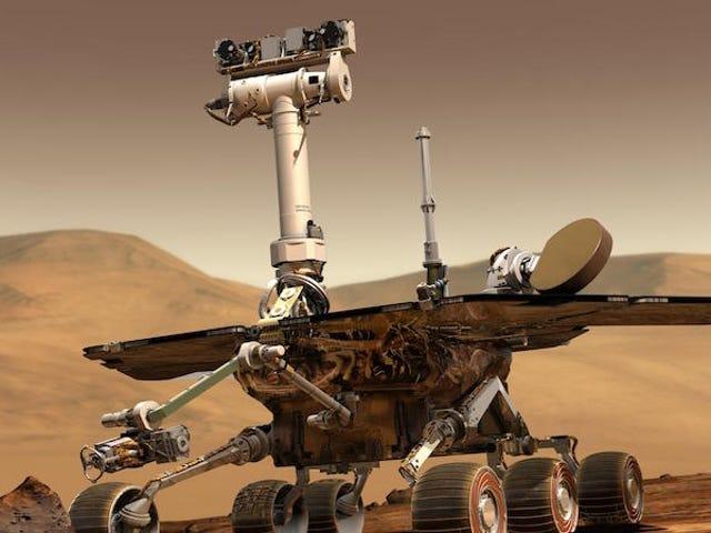 """El rover Opportunity cumple 15 años en Marte, un acontecimiento """"agridulce"""" según la NASA"""