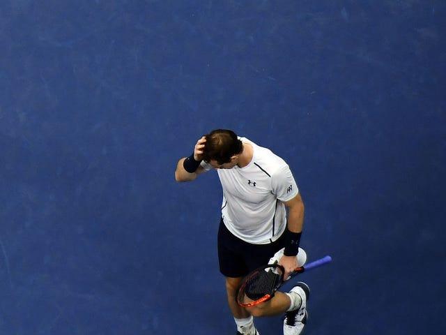 Mariposa fantasma obtiene venganza;  Andy Murray pierde a Kei Nishikori