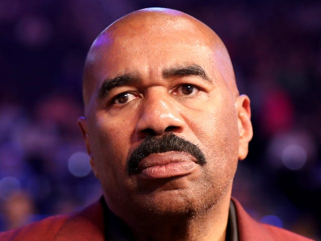 After Skinnin' and Grinnin' for Trump, Steve Harvey Says He Should Have Listened to His Wife and Skipped Meeting