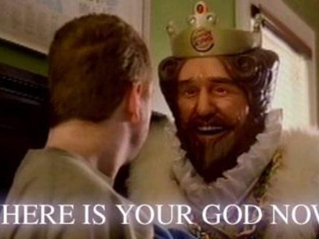 And You Thought Burger King's Mascot Was Creepy