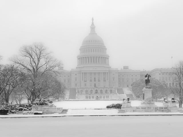 It Snowed in the Washington, DC Area Today for the First Time This Season. Let Me Tell You About My Commute