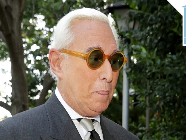 Crime Guy Roger Stone Is Now Officially a Crime Guy