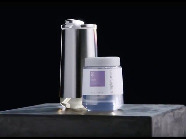 simplehuman's Foaming Dispenser Brings Its Own Soap Ecosystem