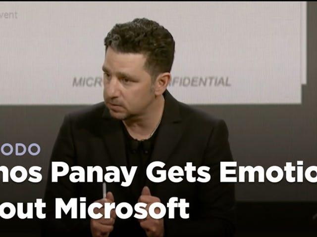 """Microsoft Exec Almost Climaxes sul palco: """"Sta solo esplodendo, è fantastico vedere"""""""