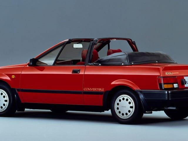 Tämä on Nissan Pulsar EXA Convertible