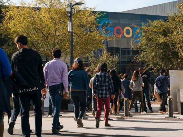 Google eskalerar intern Crackdown, avfyrar fyra anställda